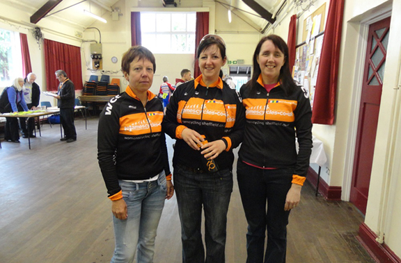 Womens Cycling Sheffield RT 10 Mile TT Record Team